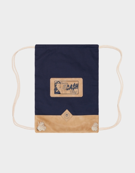 C&S CL Cash Only Gymbag navy/sand one