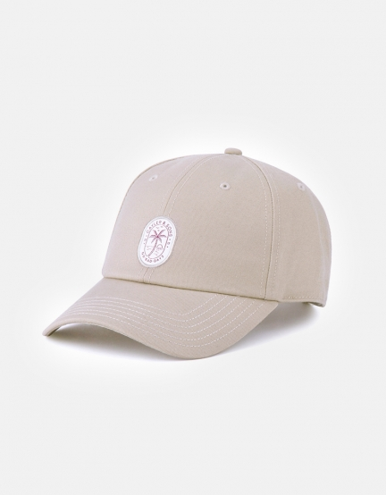 C&S CL No Bad Days Curved Cap sand/mc one
