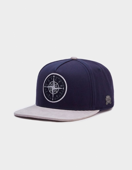 C&S CL Navigating Cap navy/grey one