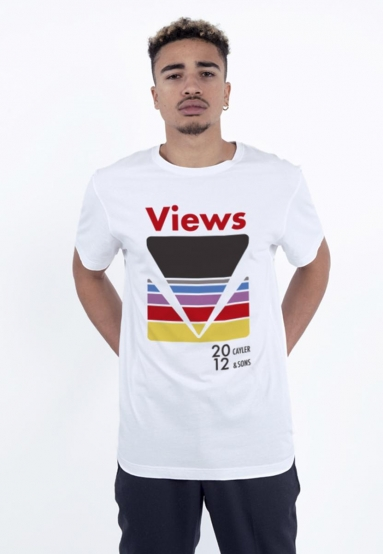 C&S WL Certain Views Tee white/mc XS