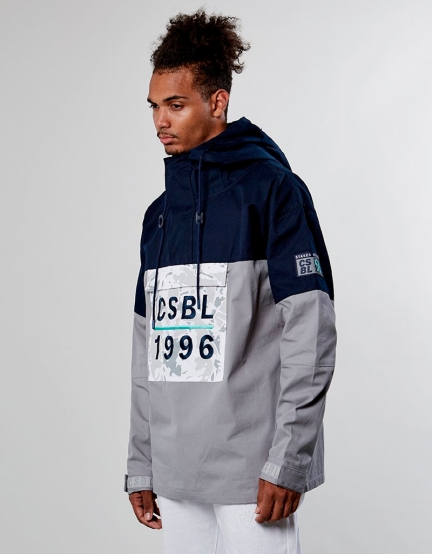 CSBL Three Peat Anorak Jacket navy XL