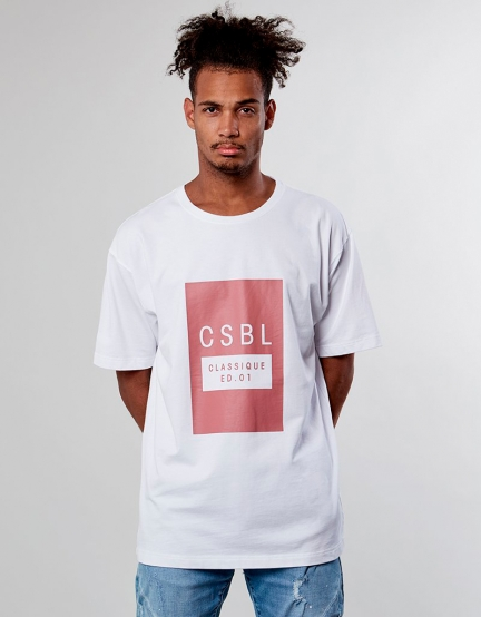 CSBL ED01 Oversized Tee white XL