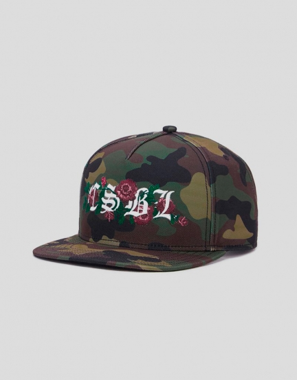 CSBL Bon Cap woodland camo/white one