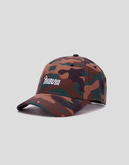 CSBL CRT Curved Cap clip camo/white one