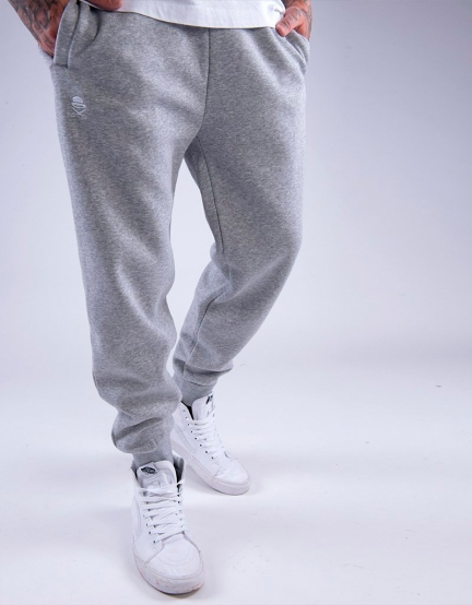 C&S PA Small Icon Sweatpants grey/white XL