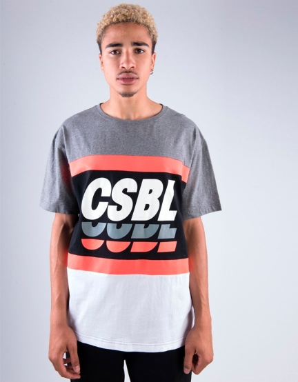 CSBL CSBLSET Tee dark heather grey/black XL
