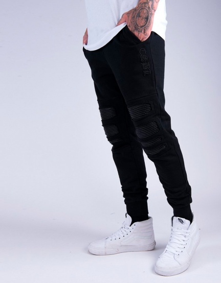 CSBL Inverted Biker Sweatpants black/black XXL