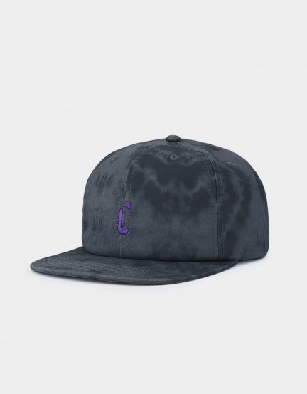 CSBL Blackletter Strapback black tiedye/purple one size