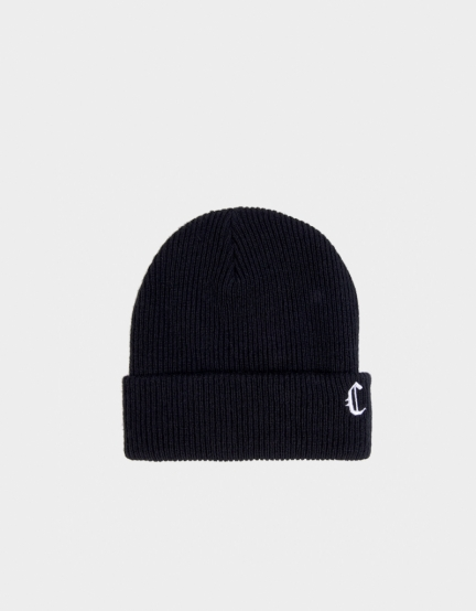 CSBL Blackletter Fisherman Beanie black/white one size