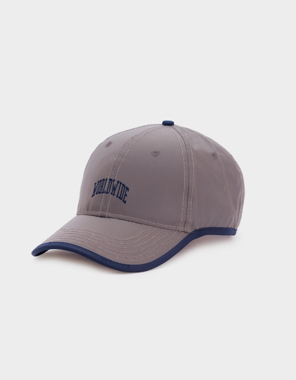 CSBL Worldwide Curved Cap reflective/navy one