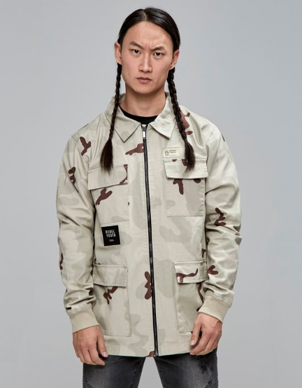 CSBL Rebel Youth Army Jacket desert camo/black M