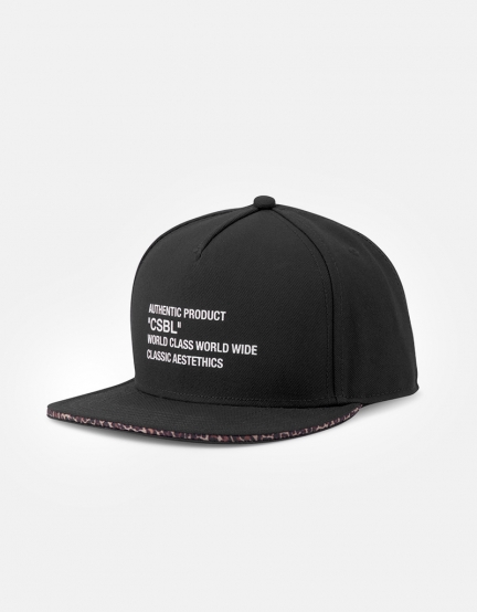 CSBL Quote Cap black/leo one