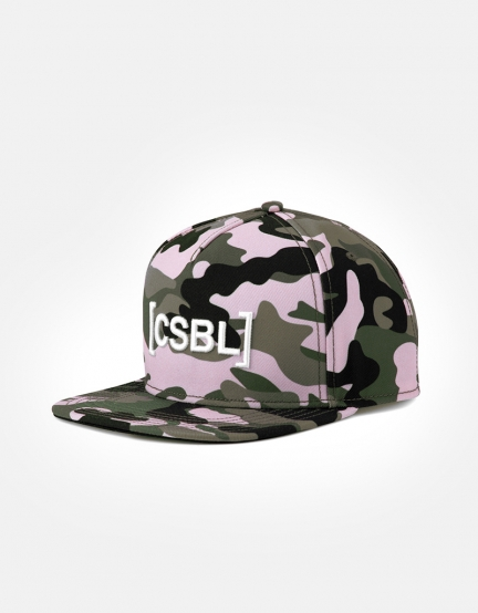 CSBL Brackets Cap woodrose camo/white one