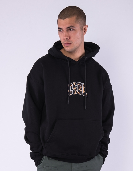 CSBL Quote Box Hoody black/leo XL