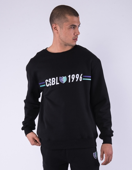 CSBL Insignia Semi Box Crewneck black/purple S