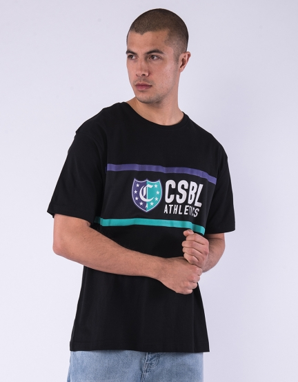 CSBL Insignia Semi Box Tee black/purple XL