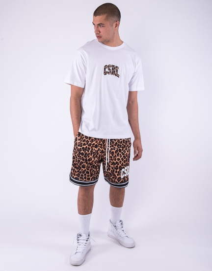 CSBL Quote Mesh Shorts leo/white S