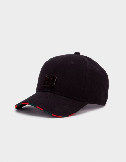 CSBL Constrictor Curved Cap black/red one