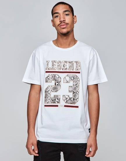 CSBL Constrictor Tee white/snake XS