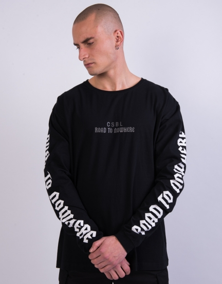 CSBL RTN Semi Box Longsleeve black/white XXL