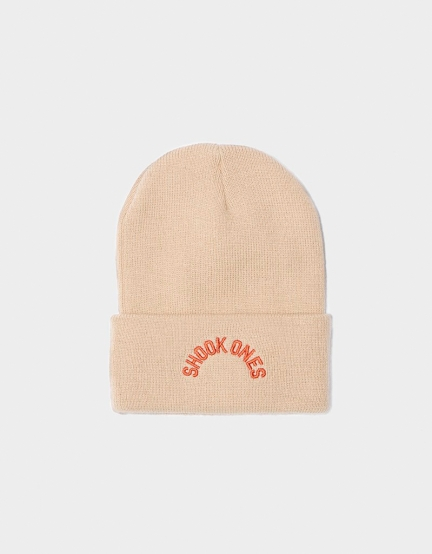 CSBL Halfway Old School Beanie off-white one