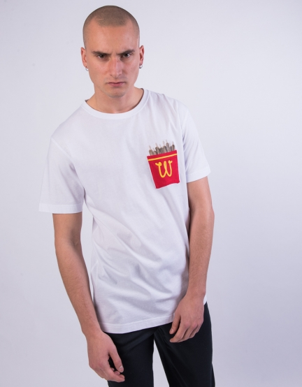 C&S WL Happy Meal Pocket Tee white/mc S