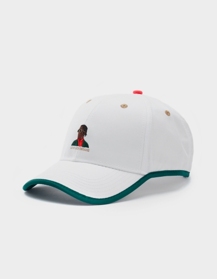 C&S WL Dream$ Curved Cap white one