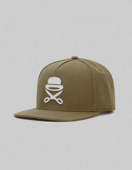 C&S PA Icon Cap olive/white one
