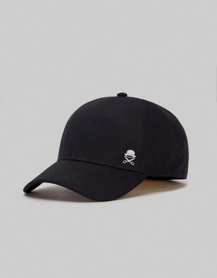 C&S PA Small Icon FL Flex Cap black/white one