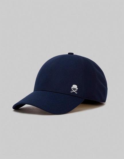 C&S PA Small Icon FL Flex Cap navy/white one