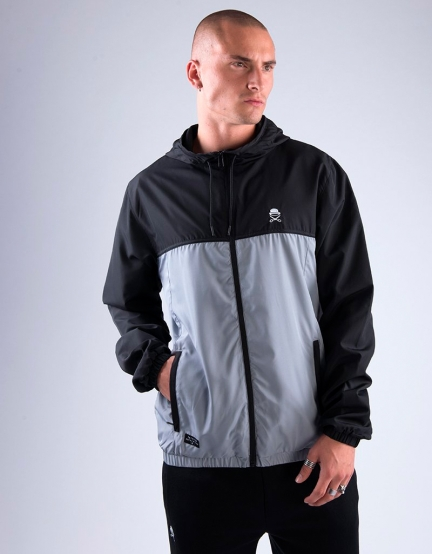 C&S PA Small Icon Windbreaker black/grey L