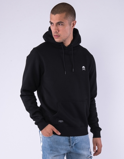 C&S PA Small Icon Hoody black/white M