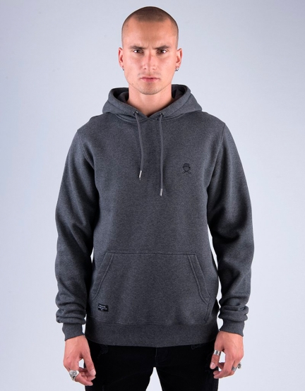 C&S PA Small Icon Hoody charcoal/black S