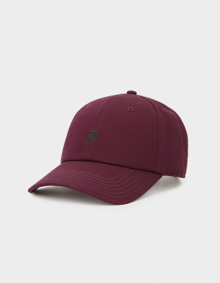 C&S PA Small Icon Curved Cap maroon/black one size
