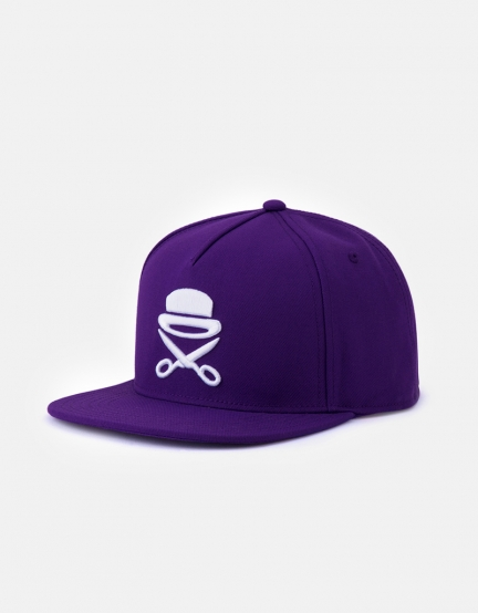 C&S PA Icon Cap purple/white one
