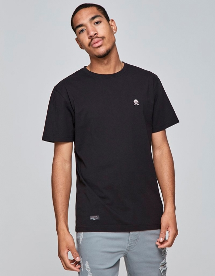 C&S PA Small Icon Tee black/pale pink S