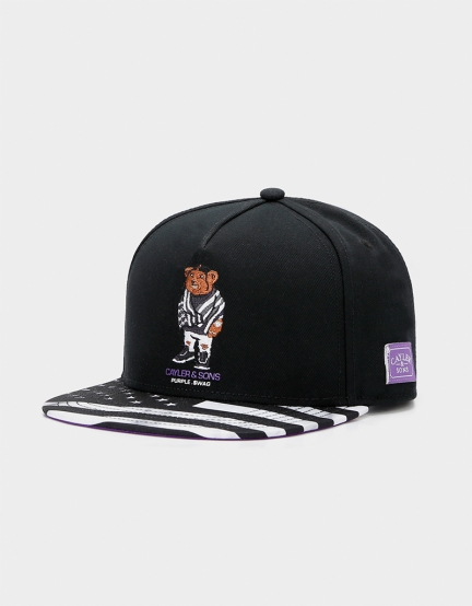 C&S Purple Swag Cap