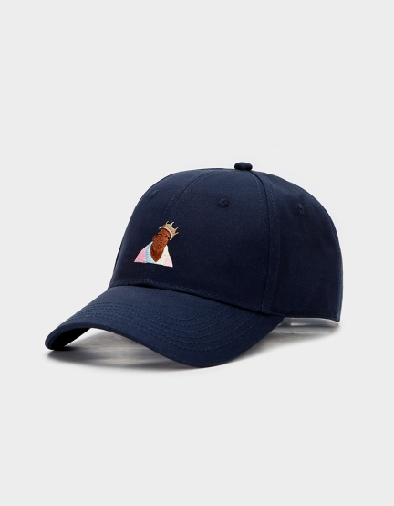 C&S WL A Dream Curved Cap navy one