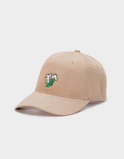 C&S WL Make It Rain Curved Cap sand one