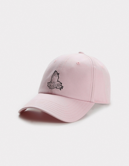 C&S WL Chosen One Curved Cap pale pink one