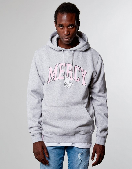 C&S WL Mercy Hoody grey heather M