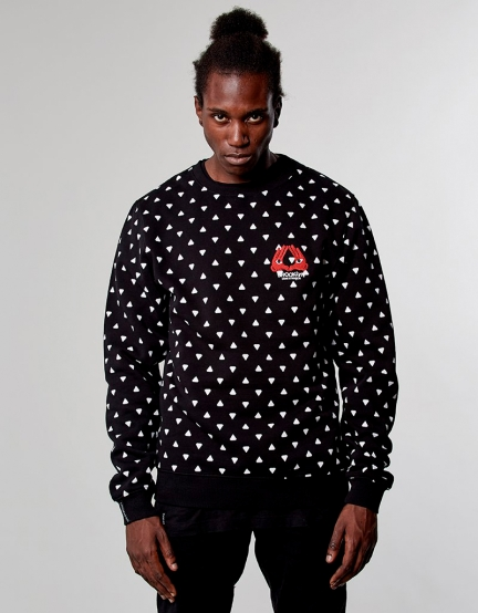 C&S WL In The House Crewneck black L