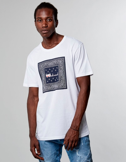 C&S WL Westcoast Tee white L
