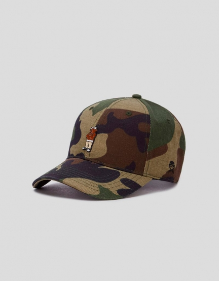 C&S WL Cee Love Curved Cap woodland/mc one