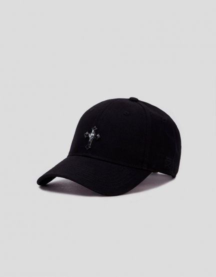C&S WL EXDS Curved Cap black/white one