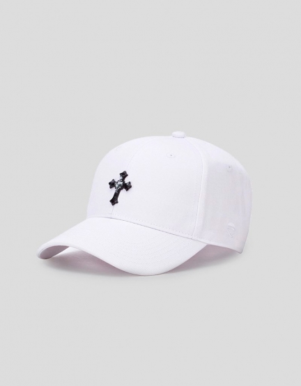 C&S WL EXDS Curved Cap white/black one