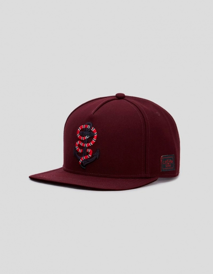 C&S WL Anchored Cap bordeaux/mc one
