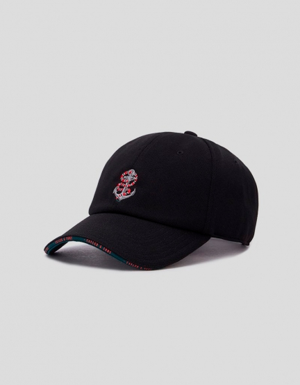 C&S WL Anchored Curved Cap black/mc one