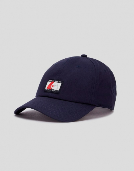 C&S WL First Curved Cap navy/white one