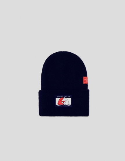 C&S WL First Beanie navy/mc one